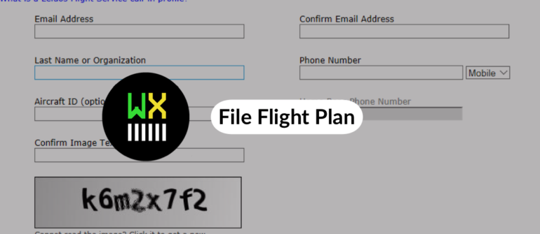 File Flight Plan