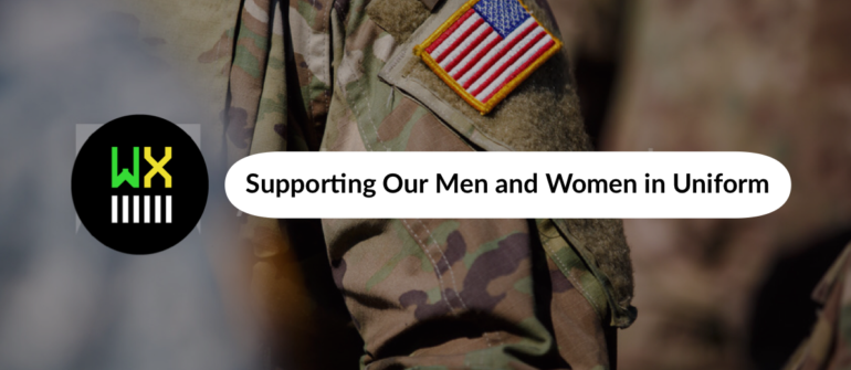 Supporting Our Men and Women in Uniform